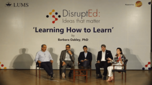 DisruptEd: Ideas that matter | Learning How to Learn