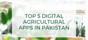 Top 5 Digital Agricultural Apps in Pakistan