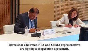 CHAIRMAN PTA ATTENDS MOBILE WORLD CONGRESS 2021