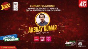 Digital Libas wins UNDP-Jazz SDG Bootcamp in Balochistan