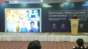 NATIONAL FREELANCING CONFERENCE 2021 HELD IN BHURBAN