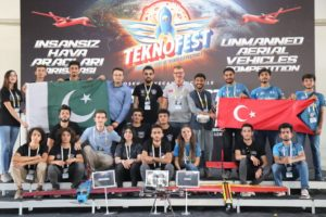 IST Students Win 1st position in International Free Mission UAV Competition at Turkey's TEKNOFEST